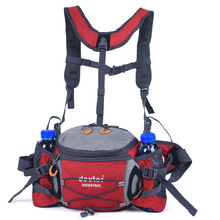 Multi-function hiking pockets men and women running cycling sports bag camping multi-pocket kettle pocket