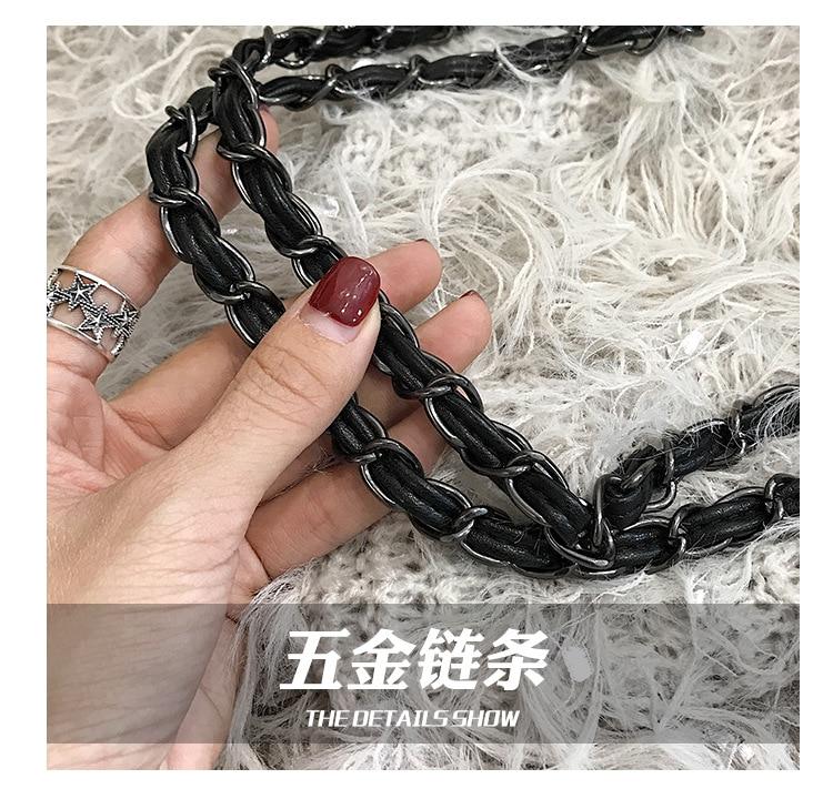 mensageiro moda losango bolsa treliça diamante bolsa