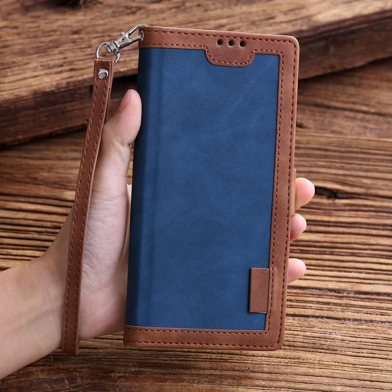 Retro Wallet Cover For Sumsung Galaxy A81 A91 A10 A20 A30 A40 A50 A70 E S A01 A11 A21 A41 A51 A71 Leather Stand Flip Case Capa