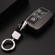 Car Key Cover Case For Land Rover A9 Range Rover LR4 Sport 4Evoque Freelander 2 Discovery For Jaguar XF XJ XJL XE C-X16 V12 car roof light a c volume knobs rear air outlet ring trim for land rover discovery 4 range rover sport freelander 2 accessories