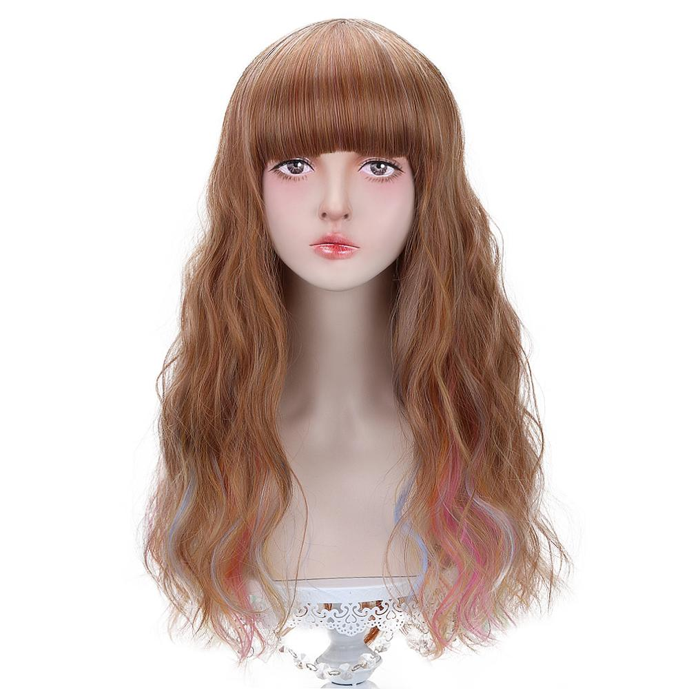 US $20.49 39% OFF Free Beauty Long Wavy Synthetic