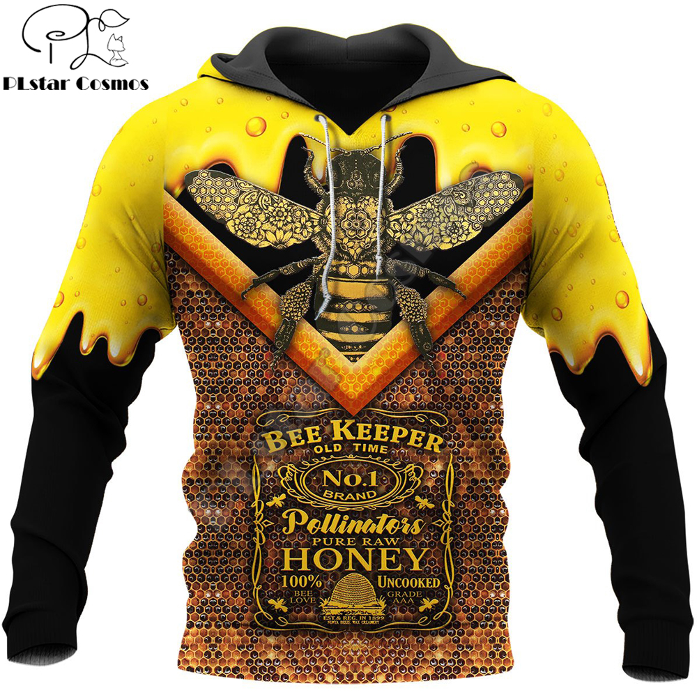Beekeeper 3D All Over Printed Men Hoodie Harajuku Fashion Hooded Sweatshirt Unisex Street Casual Jacket Pullover Sudadera Hombre