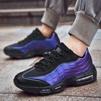 Мужская обувь; Повседневная Вулканизированная обувь для взрослых; амортизирующие модные кроссовки; Мужская дышащая прогулочная обувь на п...