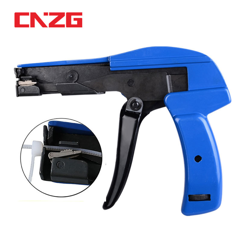 Cable Zip Installation Nylon Fastener Tie Cutting Tensioning Fastening Tool qwe