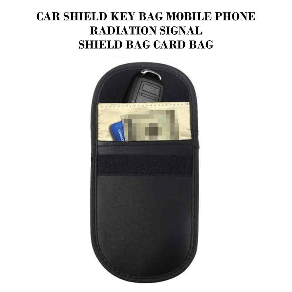 RFID Car SHIELD กรณีโทรศัพท์มือถือป้องกันรังสีป้องกันกระเป๋าแพคเกจ 2 ชิ้น