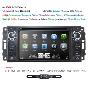6.2inch HD Head Unit GPS Navigation Radio Stereo Car DVD Player for JEEP Patriot Compass/DODGE Journey/Chrysler Sebring BT(China)