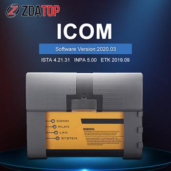 Icom następny ICOM A2 + B + C ICOM dla BMW dla rolls-royce dla Mini Cooper WIFI narzędzie diagnostyczne najnowsze oprogramowanie 2020 03 narzędzie do programowania tanie i dobre opinie ZOLIZDA ICOM NEXT Plastic Kable diagnostyczne samochodu i złącza 2 5kg V2019 12 Use AHCI Boot