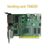 LINSN sending card TS802D P2 P1.5 indoor led module  sending card novastar wifi controller