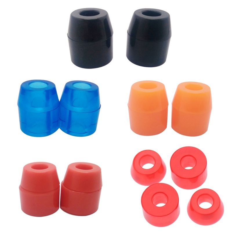 4pcs/set Skateboard Cushions High Elasticity Shock Absorption Pad Accessories For Penny Board Four-wheel Boards
