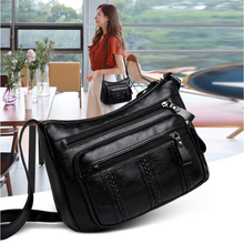 2020 Middle-aged Female Bag Joker Atmosphere Fashion Female Single Shoulder Bag His Mother-in-law Bags Inclined Shoulder Bag new casual fashion loading and unloading handle women leather handbags atmosphere wild shoulder slung middle aged mother bag