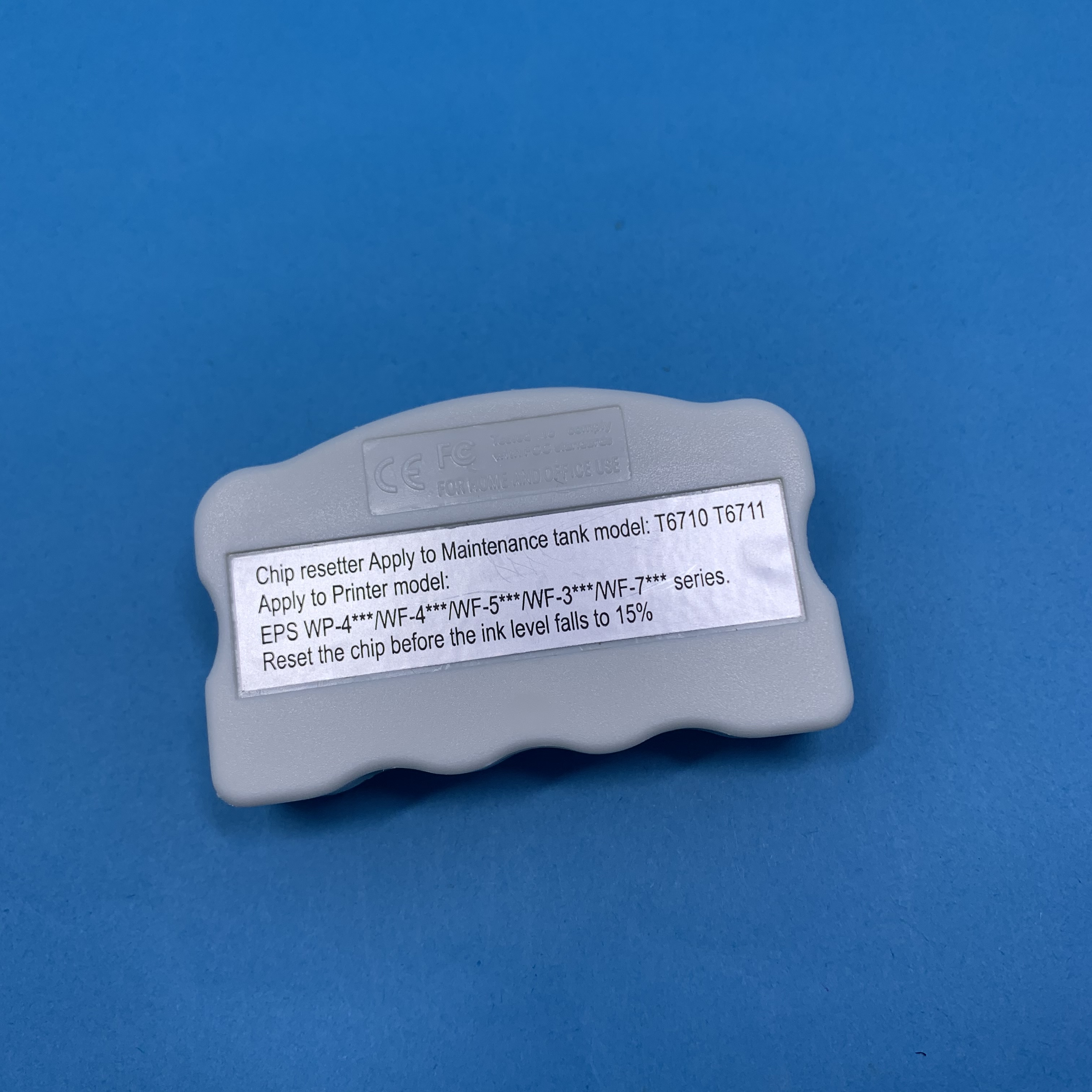 T6711 Chip Resetter for EP WF-3620DWF WF-3640DTWF WF-7110DTW WF-7610DWF WP-7620