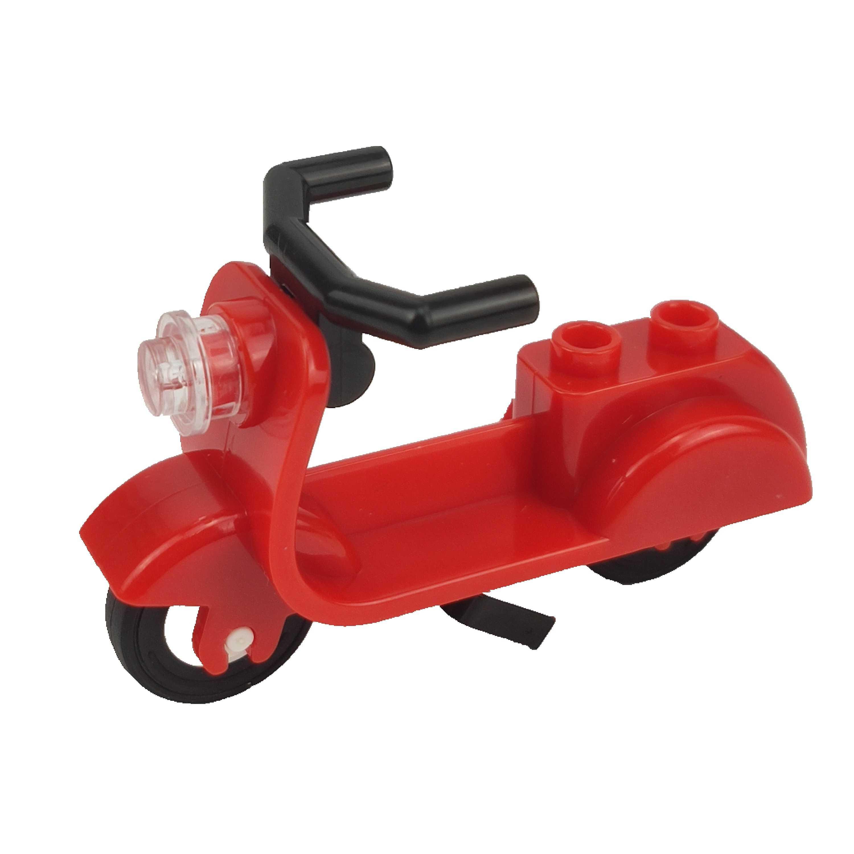 Legoing Blocks City MOC อิฐจักรยานสำหรับตัวเลขเดี่ยวขายอาคารบล็อกของเล่นเด็กประกอบ City ชิ้นส่วน DIY ของขวัญ
