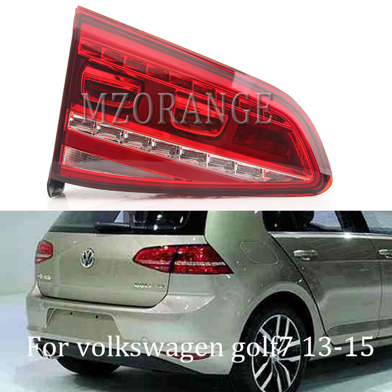 MZORANGE LED Dynamic turn signal Tail Light Rear Lamp Car Styling for Golf 7 Tail Lights 2013 2015