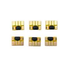 Compatible-Chip Ink-Cartridges T610 T1200 HP72 for Refill Designjet T620 T790 5sets T770