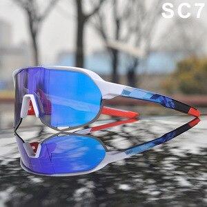 Image 4 - 2019 S2 hommes cyclisme lunettes de plein air Sport cyclisme lunettes VTT cyclisme lunettes de soleil Peter unisexe cyclisme lunettes