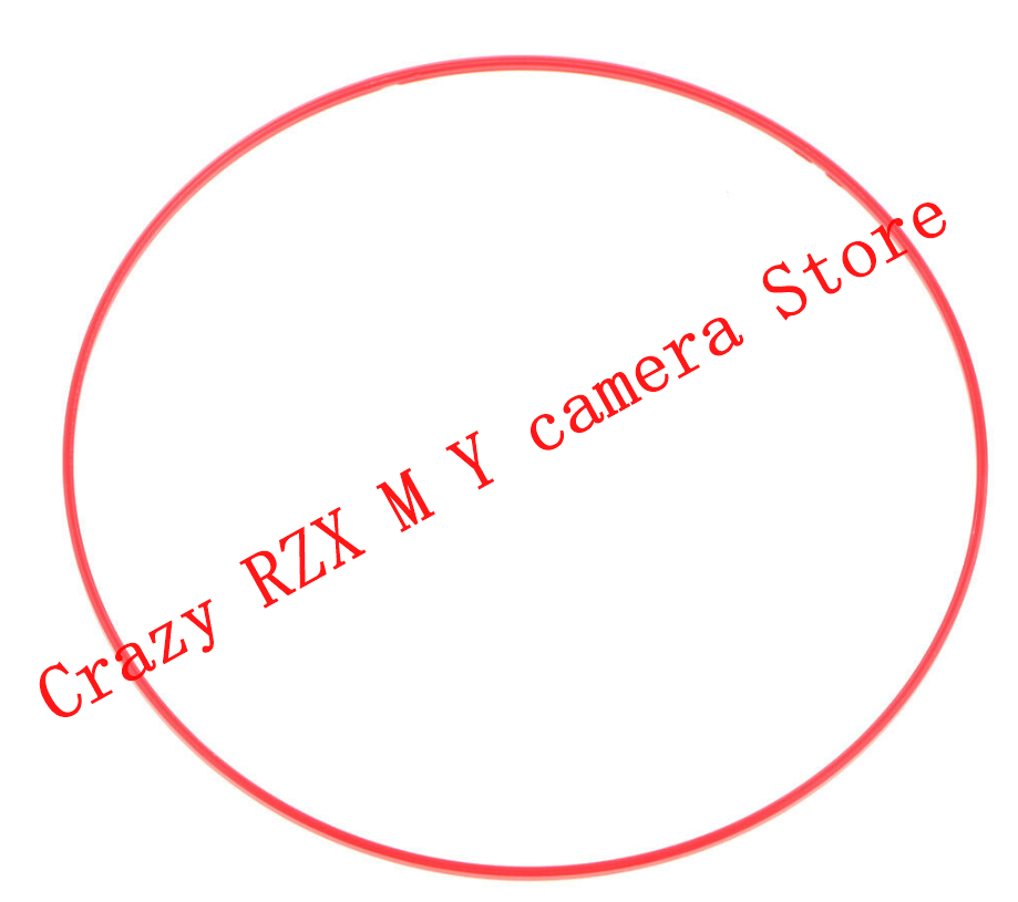 New Red indicator ring Red line circle For Canon EF 24-105mm 24-105 f 4L IS USM Lens Repair parts