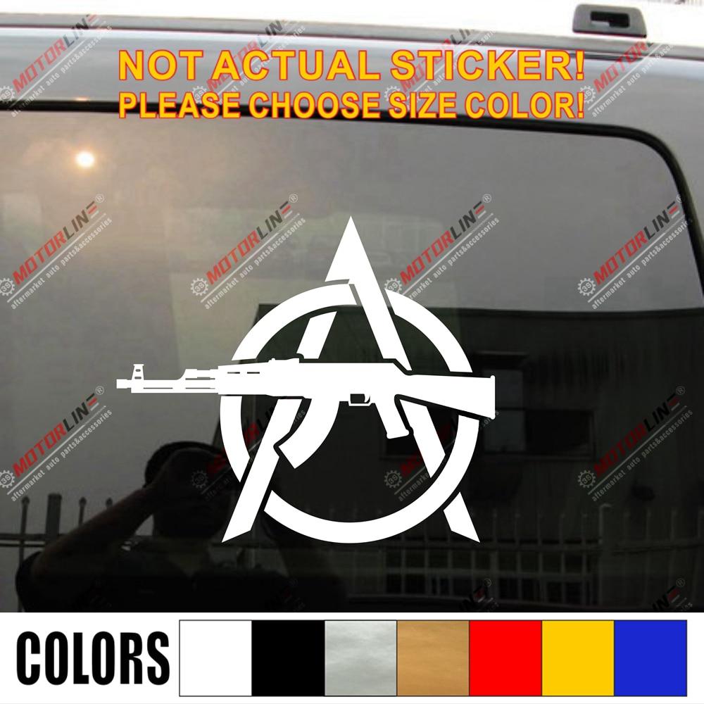 Anarchy Vinyl Decal Sticker U Pick SIZE COLOR