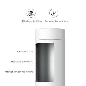 Image 3 - VIOMI חשמלי תרמוס כוס בקבוק נייד בקבוק נירוסטה חימום תרמית ספל תה קפה נסיעות קומקום 400ml