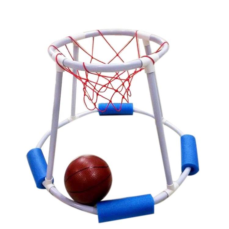 Jogo de Basquete Verão Água Piscina Competição Brinquedos Crianças Basquete Hoop Natação Flutuante b Mod. 174338