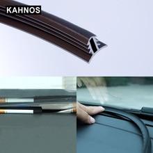 Auto Gummi Sound Dichtung Streifen Dashboard Isolierung 1,6 M U Typ Auto Windschutzscheibe Kanten Lücke Dicht Streifen Für Auto Zubehör