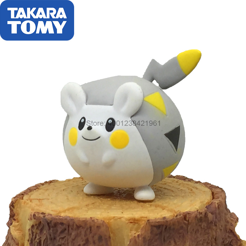 Genuine Pokemon Doll Togedemaru Action Figure Takara Tomy MC Toy Collections