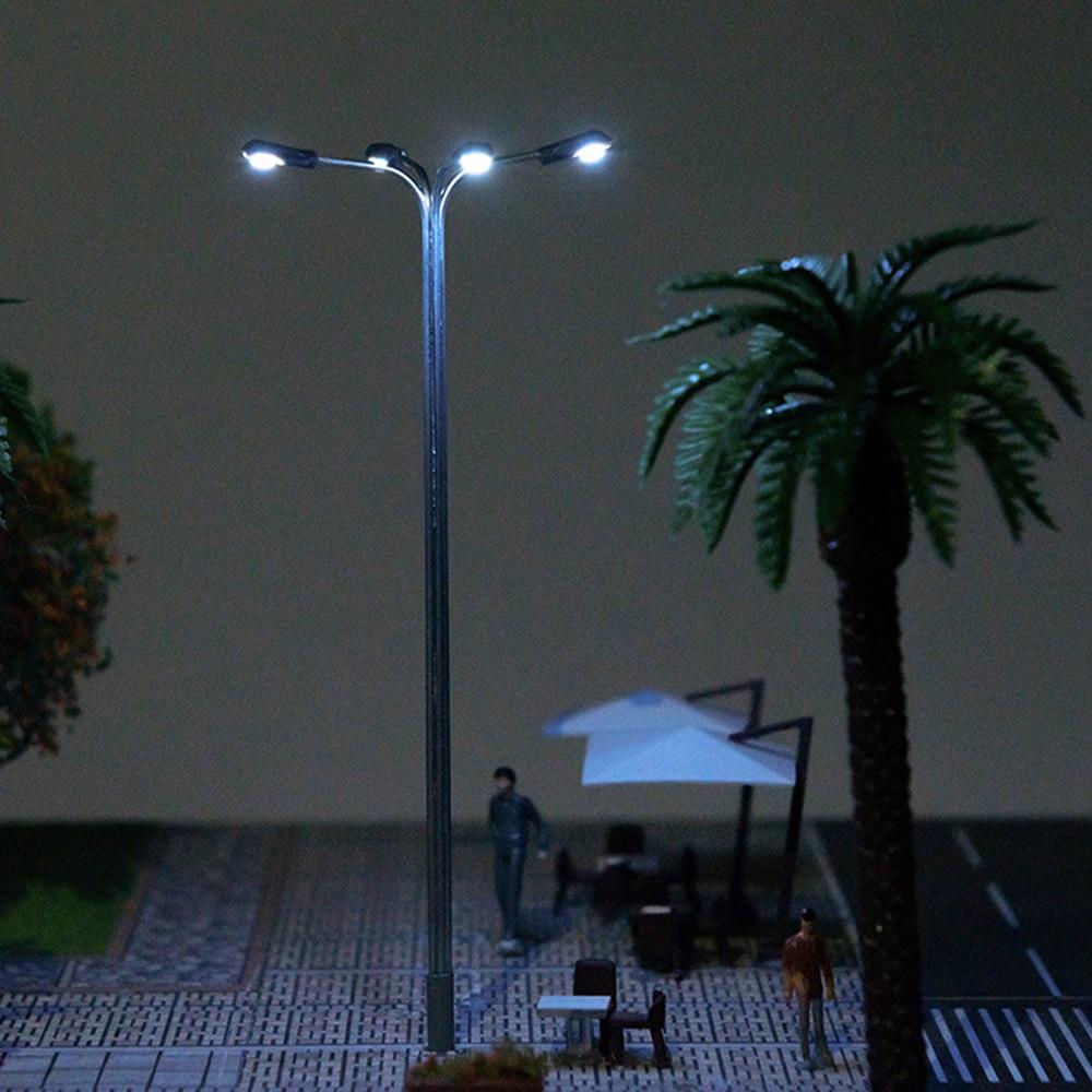 Модель светодиодсветильник лампы для железнодорожного поезда, 5 шт.