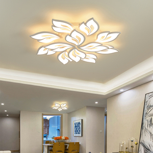Modern led chandelier ring living room dining room bedroom led lamp memory function led ceiling chandelier lighting fixture