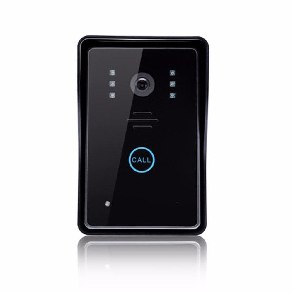 Купить с кэшбэком 7'' Wireless Video Doorbell Security Door Bell Visual Photograph Home Monitor Night Vision Intercom