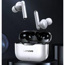 Nuovo originale Lenovo LP1 TWS auricolare Wireless Bluetooth 5.0 Dual Stereo riduzione del rumore Bass Touch Control Standby lungo 300mAH