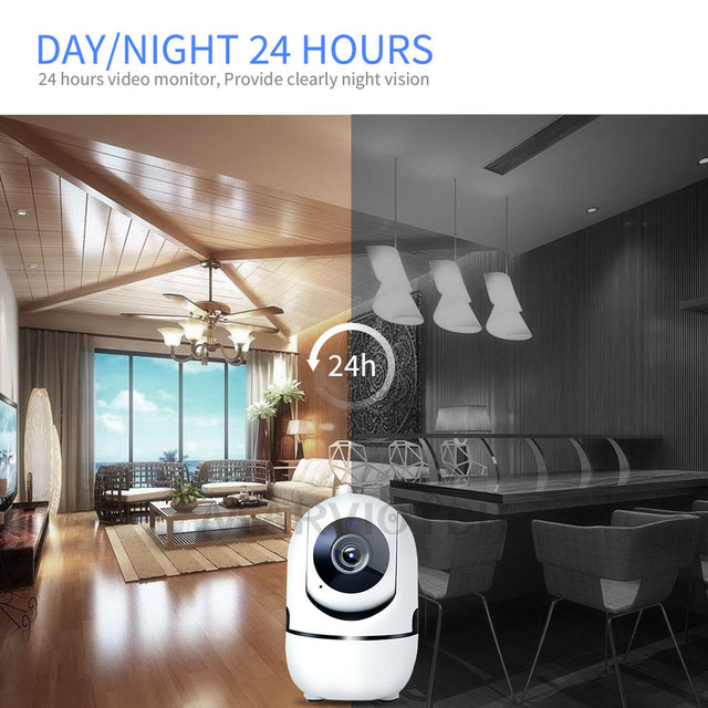 Motion Detection w/ Night Vision Baby Monitor 5