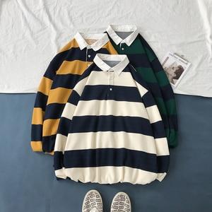 Image 2 - 2019 ใหม่ของผู้ชายพิมพ์ลายเสื้อหลวมแขนยาวชาย Pullover Hoodies ฝ้ายเสื้อผ้า 3 สีเสื้อ M 2XL