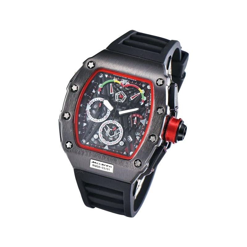DZ Watch  Black  Digite S Watch Rlo Dz Auto Date Week Display Luminous Diver Watches Stainless Steel Wrist Man  Male Clock