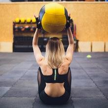 Crossfit медицинский мяч для дома фитнеса настенный упражнений