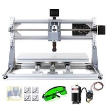 레이저 조각 나무 CNC 라우터 기계 GRBL 제어 PCB 나무 조각 밀링 CNC 3018 조각 기계 ER11