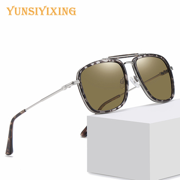 YSYX Sunglasses Men Polarized Square Fashion Brand Glasses Anti-Glare 2020 Vintage Fishing Accessories For WD3366