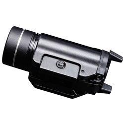 Cree XML2 Waffe Montiert Taktische Licht IPX7 Leichtes Kompaktes Hohe Lumen Mit Strobe CR123A Boro Floatglas