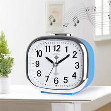 Скандинавский милый тихий будильник модные настольные часы Музыкальный