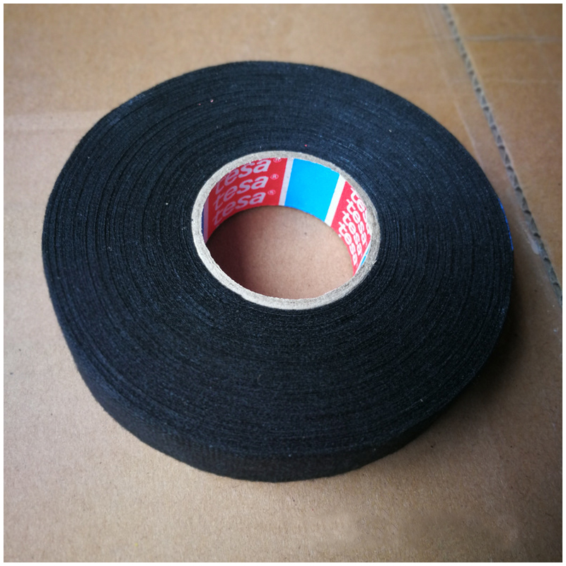 19mmx25m Tesa Coroplast Adhesive Tape For Cable Harness Wiring Loom Vibration Reduction Noise Reduction Wear Resistance