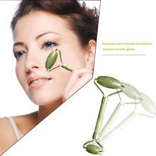 Facial Massage Jade Roller Face Neck Natural Stone Health Care Body Massage