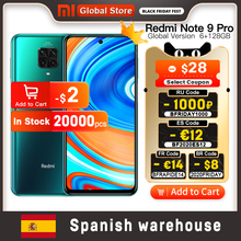 Xiaomi Snapdragon 720G Redmi Note-9 Pro 128GB 6GB GSM/LTE/WCDMA NFC Adaptive Fast Charge