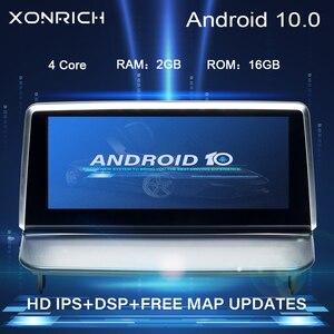 IPS DSP Radio samochodowe Android 10.0 samochodowy odtwarzacz multimedialny dla VOLVO S40 C40 C30 C70 2006-2012 GPS nawigacja Stereo RDS Audio 2GB