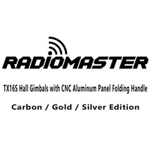 RadioMaster TX16S 2.4G 16CH Hall Gimbals with CNC Aluminum Panel Folding Handle OpenTX Multi Protocol Transmitter Remote Control