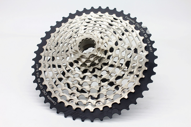 ULT 11 <font><b>Speed</b></font> 9-46T Cassette MTB XD Cassette Ultralight 371g Steel Durable Ultimate 11s Sprocket 9-46 k7 9 to 46 image