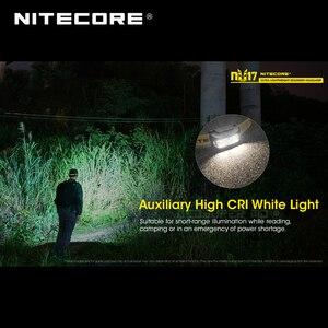 Image 5 - Micro usb akumulator Nitecore NU17 potrójne wyjscie Ultra lekki reflektor dla początkujących wbudowany akumulator litowo jonowy