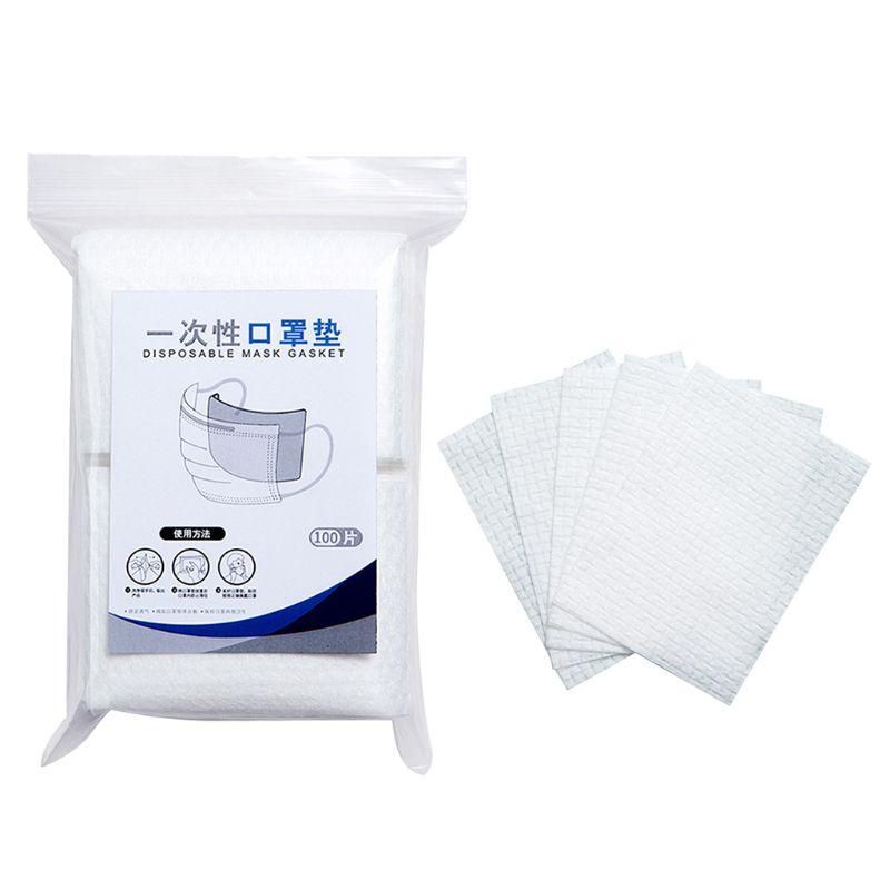 100Pcs Disposable  Masks Gasket Safety Mask Antivirus He  Alth Care Mask Mouth Face Mask Filter Mask Pad Isolation Filter