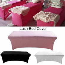 1pcs Lash Bed Cover Eyelash Extension Sheets Stretchable Cosmetic Elastic Table Sheet For Grafted Eyelashes Makeup Tools Salon