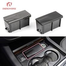 Black Carbon Fiber Car Front Center Console Ashtray For Mercedes Benz ML GL W166 GLE GLS 1668103330