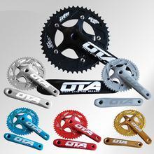 Ota de velocidade única/de engrenagens fixas/fixie/de bicicleta de trilha cárter liga cnc chain-rings 48 t