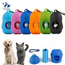 1 Pcs Good Looking Gourd Shape Dog Poop Bag Practical Cat Set Pet Cleaning Supplies Dispenser