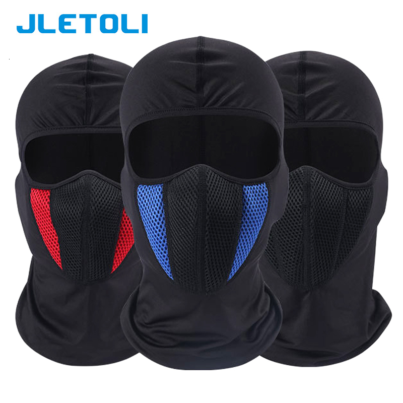 H357c3f1f3e1a433b9f85005c1eb2d163h JLETOLI Windproof Facemask Dustproof Mask Outdoor Cycling Face Cover Face Mask Snow Skiing Running Hiking Head Warmer for Men